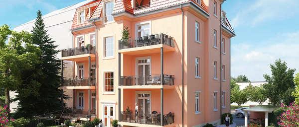 Denkmal-Mehrfamilienhaus Pieschen