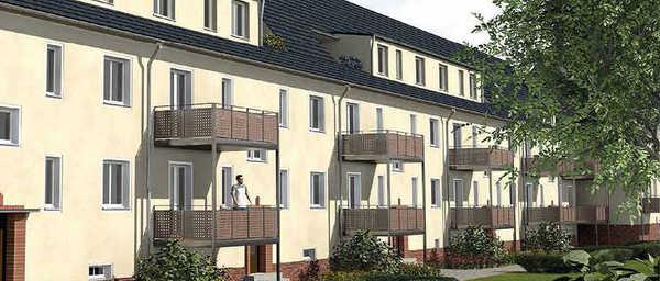 Denkmalgeschützte Mehrfamilienhäuser